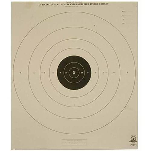 Champion Traps and Targets 25 yd Center Repair Targets