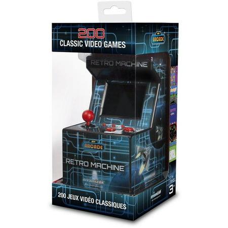 3d92505891bd6 My Arcade Retro Arcade Machine  Portable Gaming Mini Arcade Cabinet -  Walmart.com