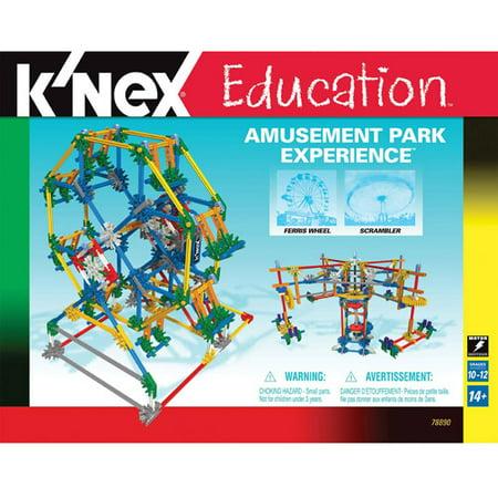 Knex Education  Amusement Park Experience Building Set