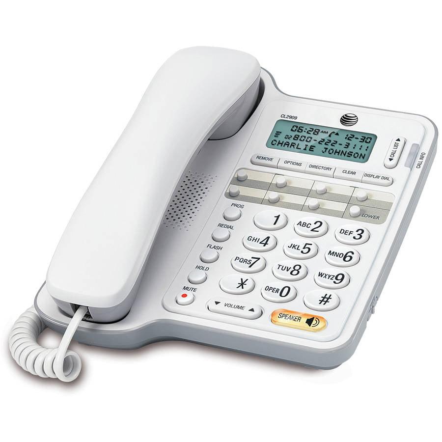 High Quality ATu0026T Standard Phone   White   Walmart.com