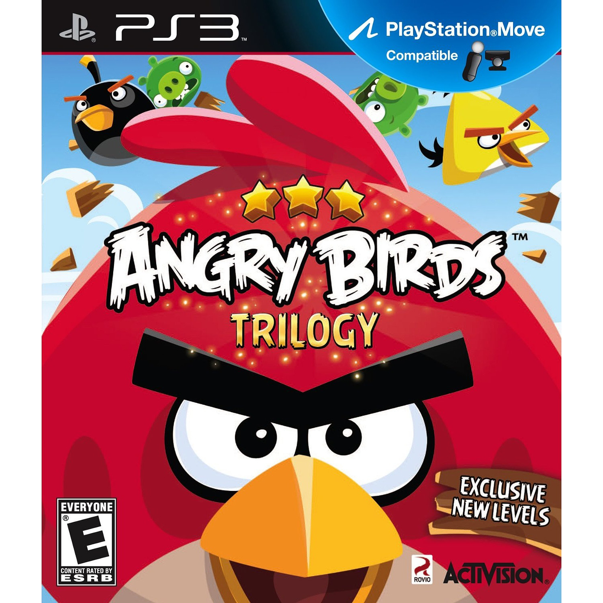 Angry Birds Trilogy (PS3) - Pre-Owned