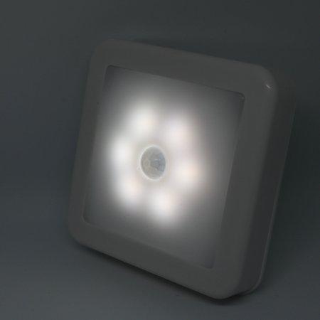 Intelligent LED Induction Lamp Square Sensor Induction Lamp Night Light Lamp for Bedroom Hallway - image 1 of 7