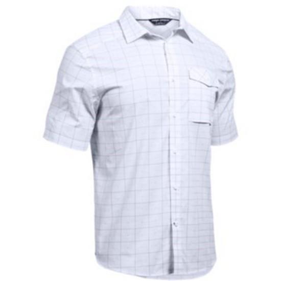 Under Armour Mens UA Tactical Short Sleeve Button Down Shirt