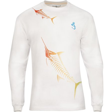 - Hook & Tackle Marlinmania X-Ray Long Sleeve Tech Fishing Tee