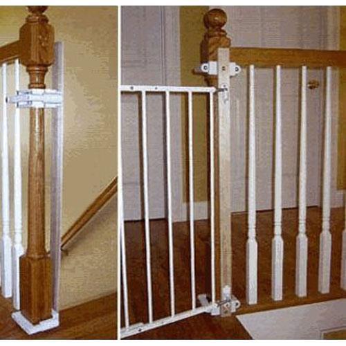 Kidco K12 Stairway Gate Installation Kit 2 Pack Walmart Com