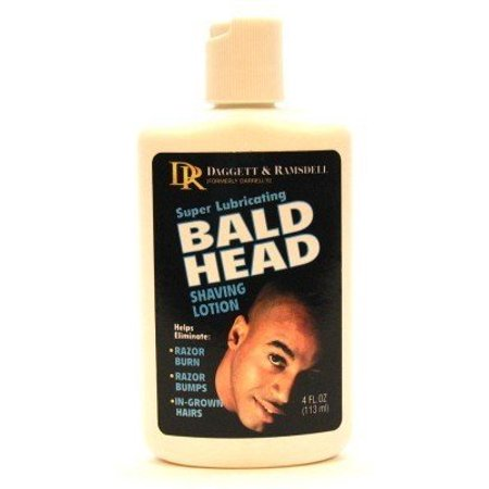 Darrells Bald Head Shaving Lotion 4 oz. (Pack of (Best Solution For Bald Head)