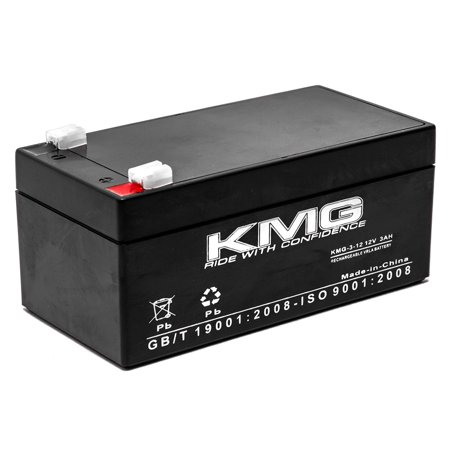 KMG 12V 3Ah Replacement Battery for Powersonic PS-1230 - image 3 de 3