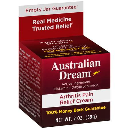 Rub 2 Ounce Cream - Australian Dream® Arthritis Pain Relief Cream 2 oz. Box