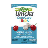 Umcka ColdCare Homeopathic Cold Medicine Cherry Chews 30 Ct