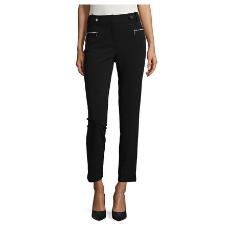 Calvin Klein Slacks (Zip-Accented Ankle Pants)