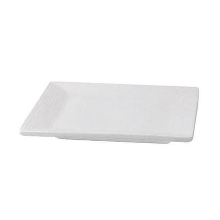 Packnwood 210MBPCAR Mini White Square Dish
