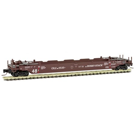 Micro-Trains MTL Z-Scale 70ft Husky Stack Well Intermodal Car CRLE #5535