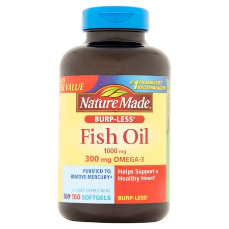 Nature made fish oil dietary supplement softgels 1000mg for Nature made fish oil 1000 mg