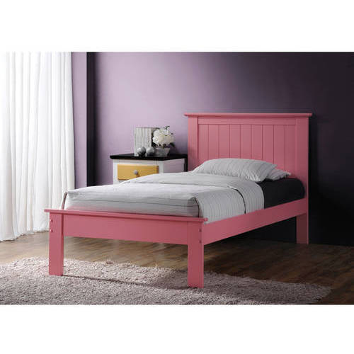 Prentiss Twin Bed, Pink