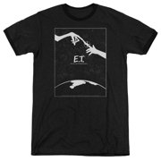 Et The Extra-Terrestrial SciFi Spielberg Simple Poster Adult Ringer T-Shirt Tee