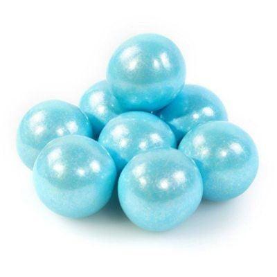 Shimmer Blue Gumballs - Blue Gum Balls