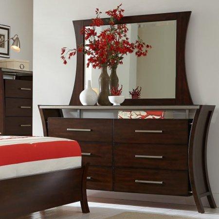Progressive Furniture Avalon 6 Drawer Dresser