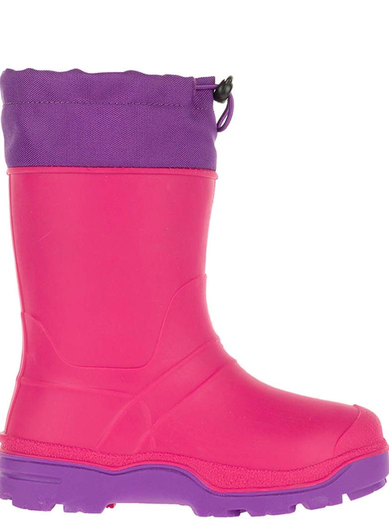 SkaDoo Girls Snow Goer Rubber Boots