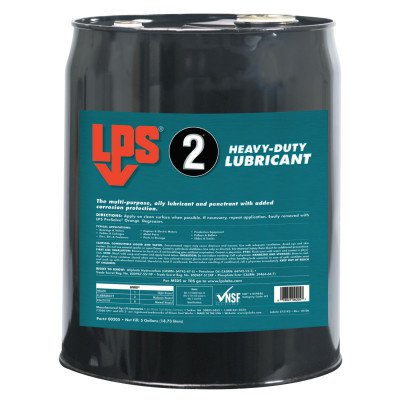 LPS Multipurpose Lubricant,5 gal.,Pail,Brow 205