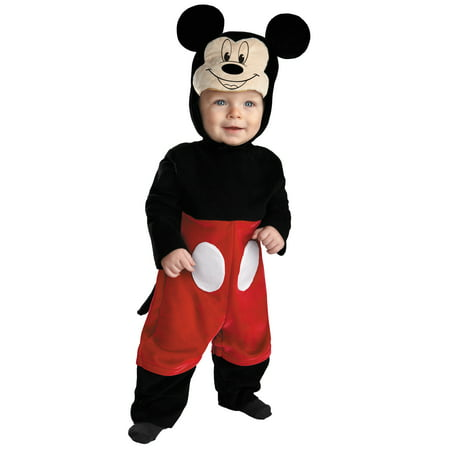 Disney's Mickey Mouse Infant Dress-Up - Mickey Mouse Baby Costume Halloween