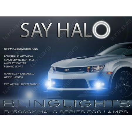 New 2014 2015 2016 Chevy Camaro SS Z/28 Halo Fog Lamp Driving Light Kit Angel Eyes Chevrolet