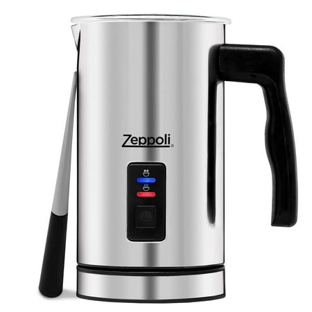 Zeppoli Milk Frother and Warmer - Automatic Milk Heater, Electric Milk Steamer and Milk Foamer | Great as a Latte Frother and Cappuccino Maker for Coffee and Hot Chocolate