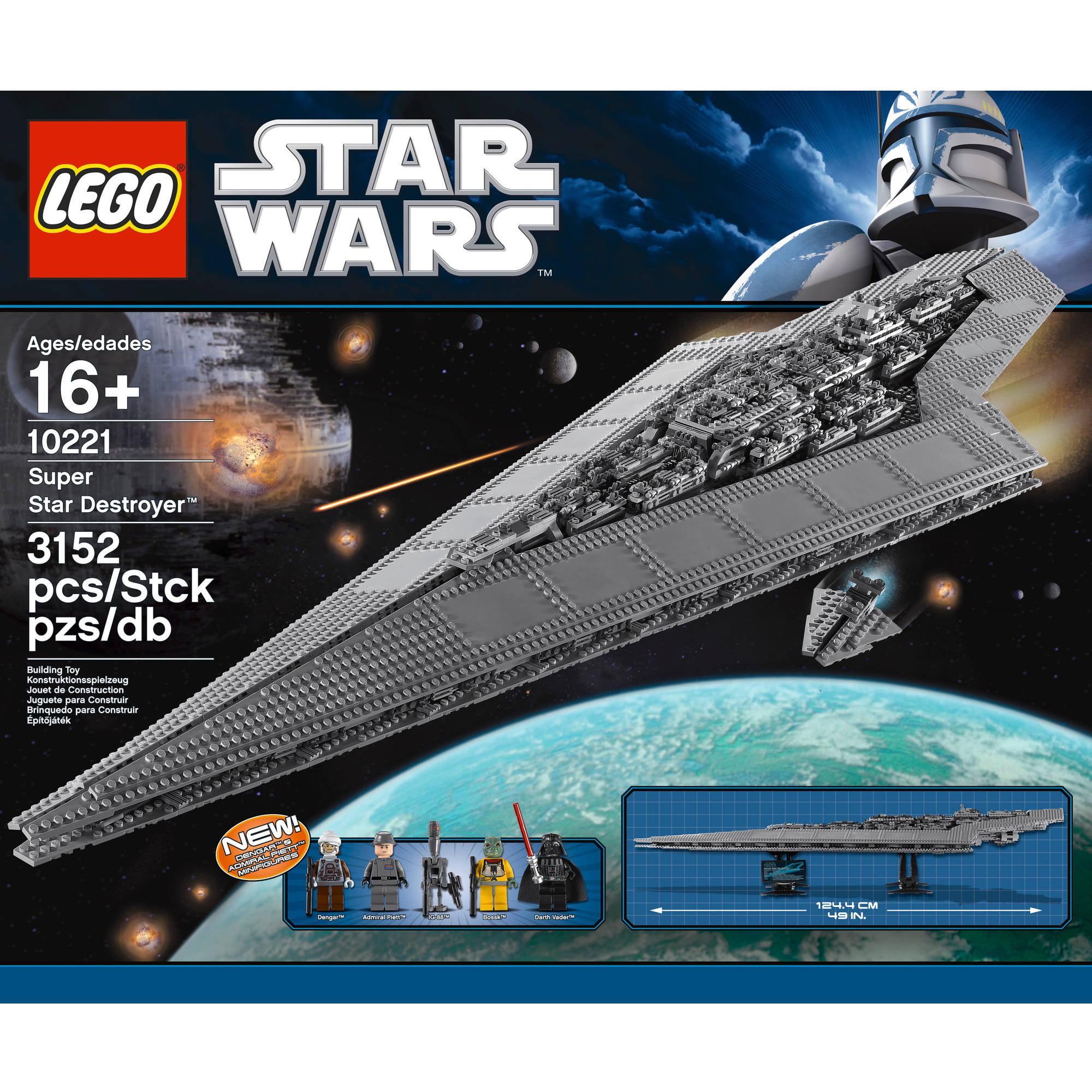 Lego Star Wars Super Star Destroyer 10221 by LEGO Systems, Inc.