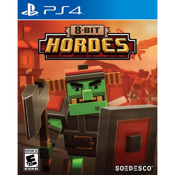8 Bit Hordes Soedesco Playstation 4 852103006584 Walmart Com