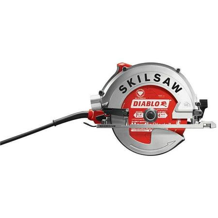 """Skilsaw Diablo 7-1/4"""" 15 Amp Dual Field Sidewinder Circular Saw for Fiber Cement"""