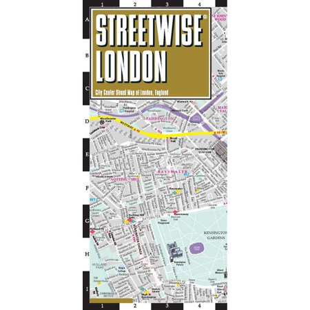 Streetwise london map - laminated city center street map of london, england - paperback: (The City At The Center Of The World)