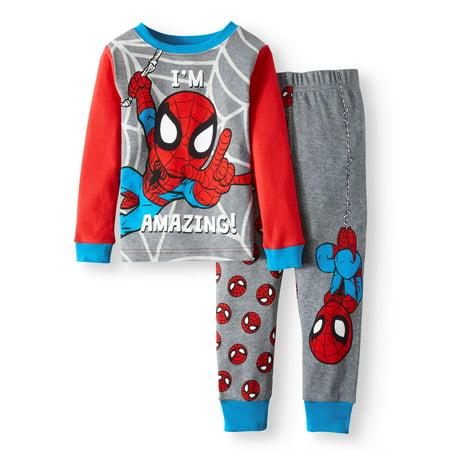 Spider-Man Cotton Tight Fit Pajamas, 2-piece Set (Toddler Boys)