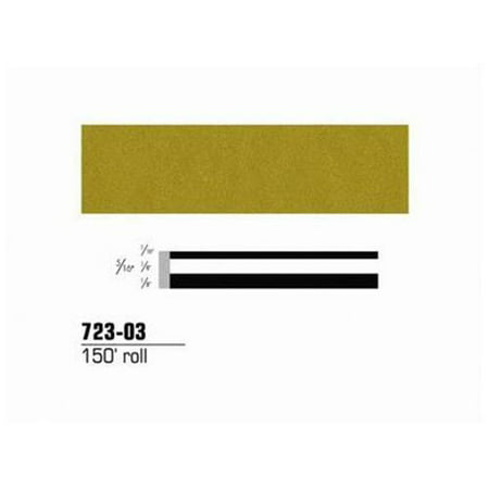 3M Scotchcal Striping Tape 150ft x 5/16in - Metallic 72303 Scotchcal Striping Tape