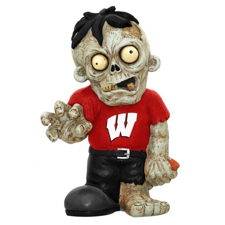NCAA Wisconsin Badgers Pro Team Zombie Figurine, Bring your fan cave to life with a team zombie By Forever Collectibles