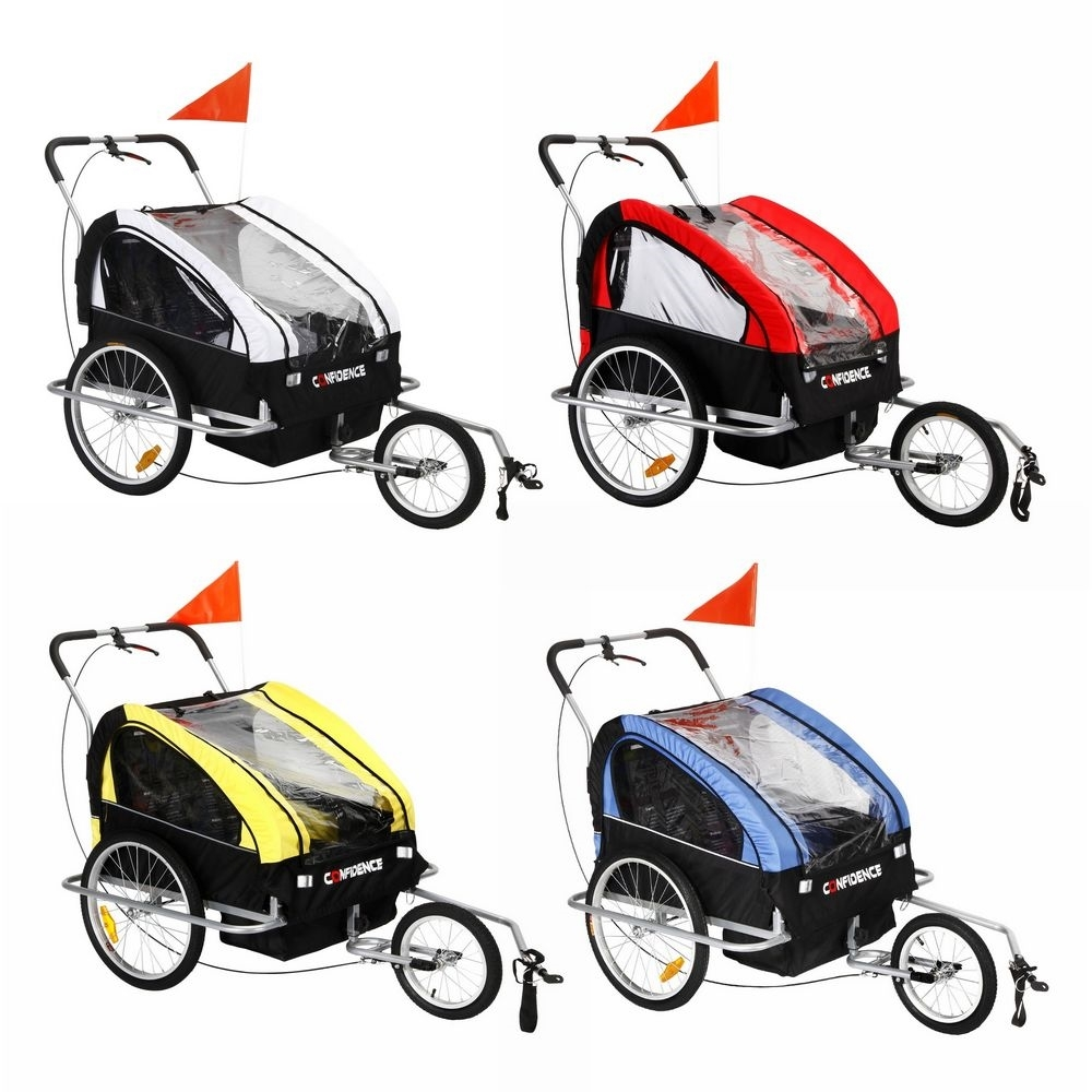 Confidence Baby/Child/Kids Bicycle Bike Trailer /Jogger /Stroller Suspension Blue