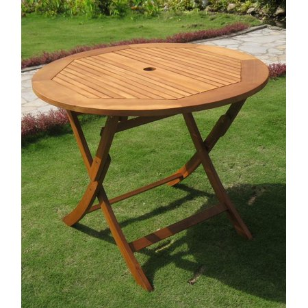 Balau Wood Folding Patio Table