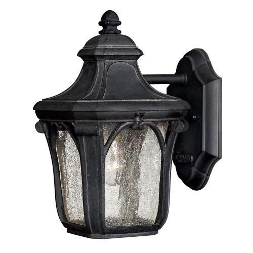 "Hinkley Lighting 1316-GU24 10"" Height 1 Light Lantern Fluorescent Outdoor Wall Sconce from the Trafalgar Collection"