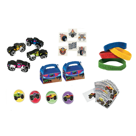 Monster Truck Party Favor Kit