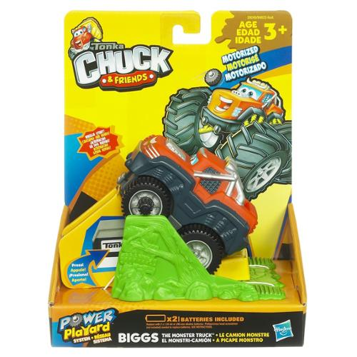 Chuck & Friends Motorized Vehicle: Bigs The Monster Truck