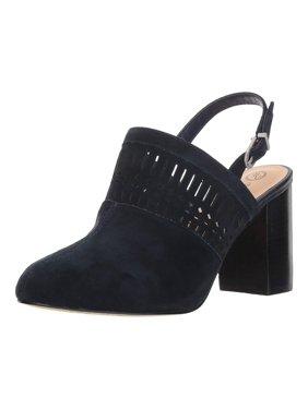Bella Vita Womens Nox Suede Almond Toe Mules