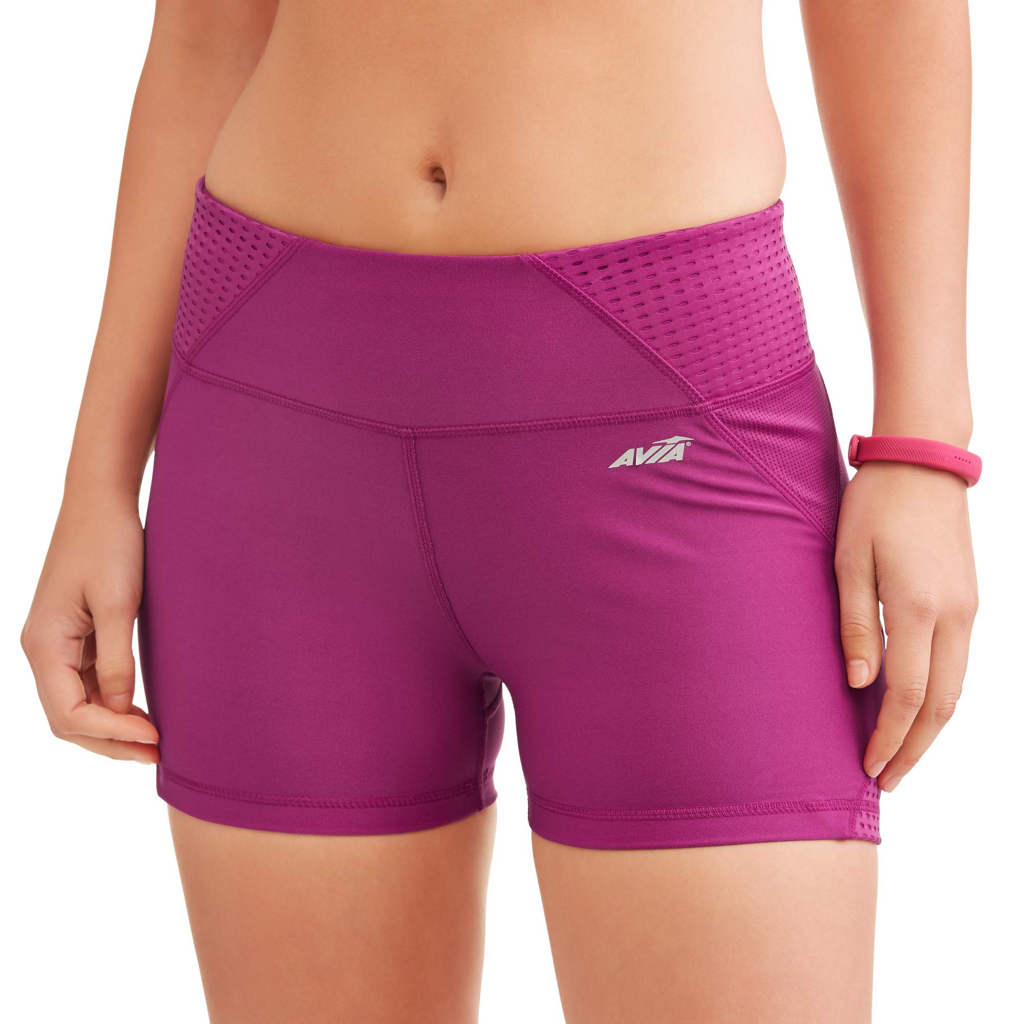 Women's Active 3 Bike Short With Mesh Inserts