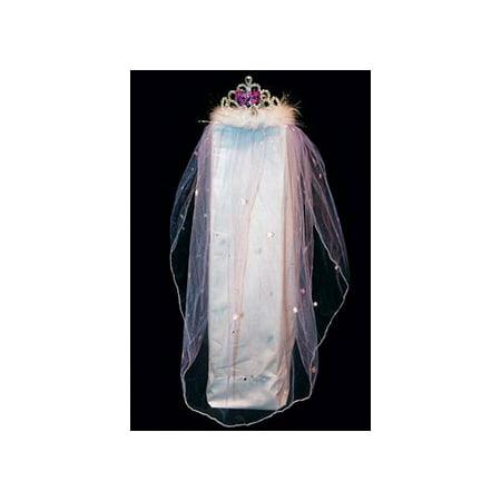 Bachelorette Tiara Veil 8609-21 Eldorado