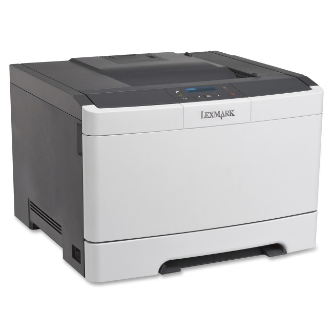 Lexmark CS310DN Laser Printer - Color - 2400 x 600 dpi Print - Plain Paper Print - Desktop - 25 ppm Mono / 25 ppm Color Print - 250 sheets Standard Input Capacity - 60000 Duty Cycle - Automatic Duplex