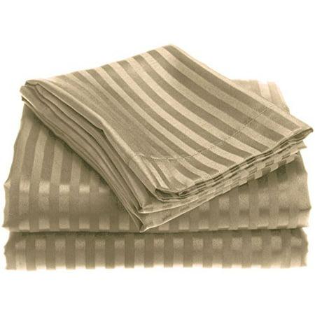Ben&Jonah Designer Plush King 1800 Series Embossed Sheet Set - (Designer Bedding)
