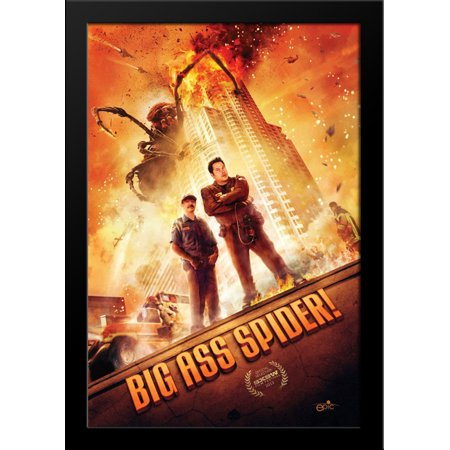 Big Ass Spider! 28x36 Large Black Wood Framed Movie Poster Art