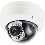 LTS LTCMIP7442W-28M 4.1 MP 2.8mm Fixed Lens High Resolution True WDR with 30IR LED IP66 Rated Mini Vandal Proof Network Camera ( White )