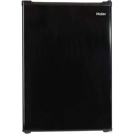 Haier 2.7 Cu Ft Single Door Compact Refrigerator HC27SW20RB, Black (Haier White Refrigerator)