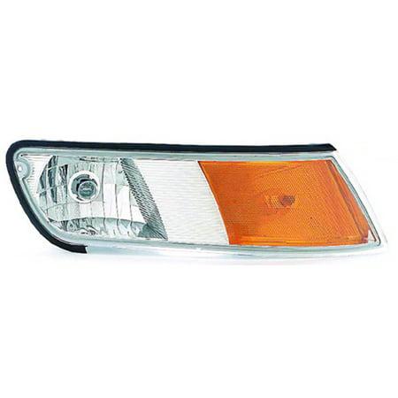1998-2002 Mercury Grand Marquis  Passenger Side Right Fender Corner Parking Side Marker Lamp XW3Z15A201AB-V