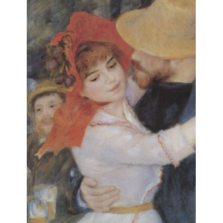 Framed Art for Your Wall Renoir, Pierre -Auguste - The Dance in Bougival, detail 10 x 13 -