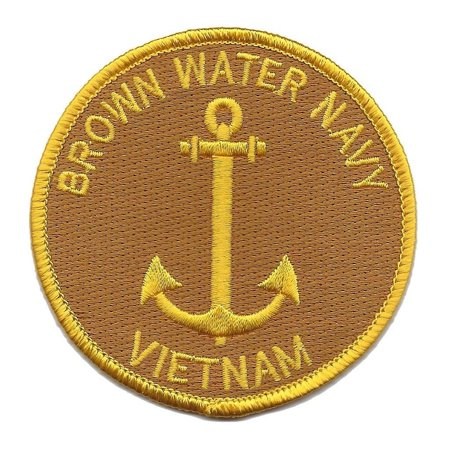 BROWN WATER NAVY VIETNAM PATCH PBR PATROL BOAT RIVER MOBILE MRF MOBILE - Pearl River Patch Halloween