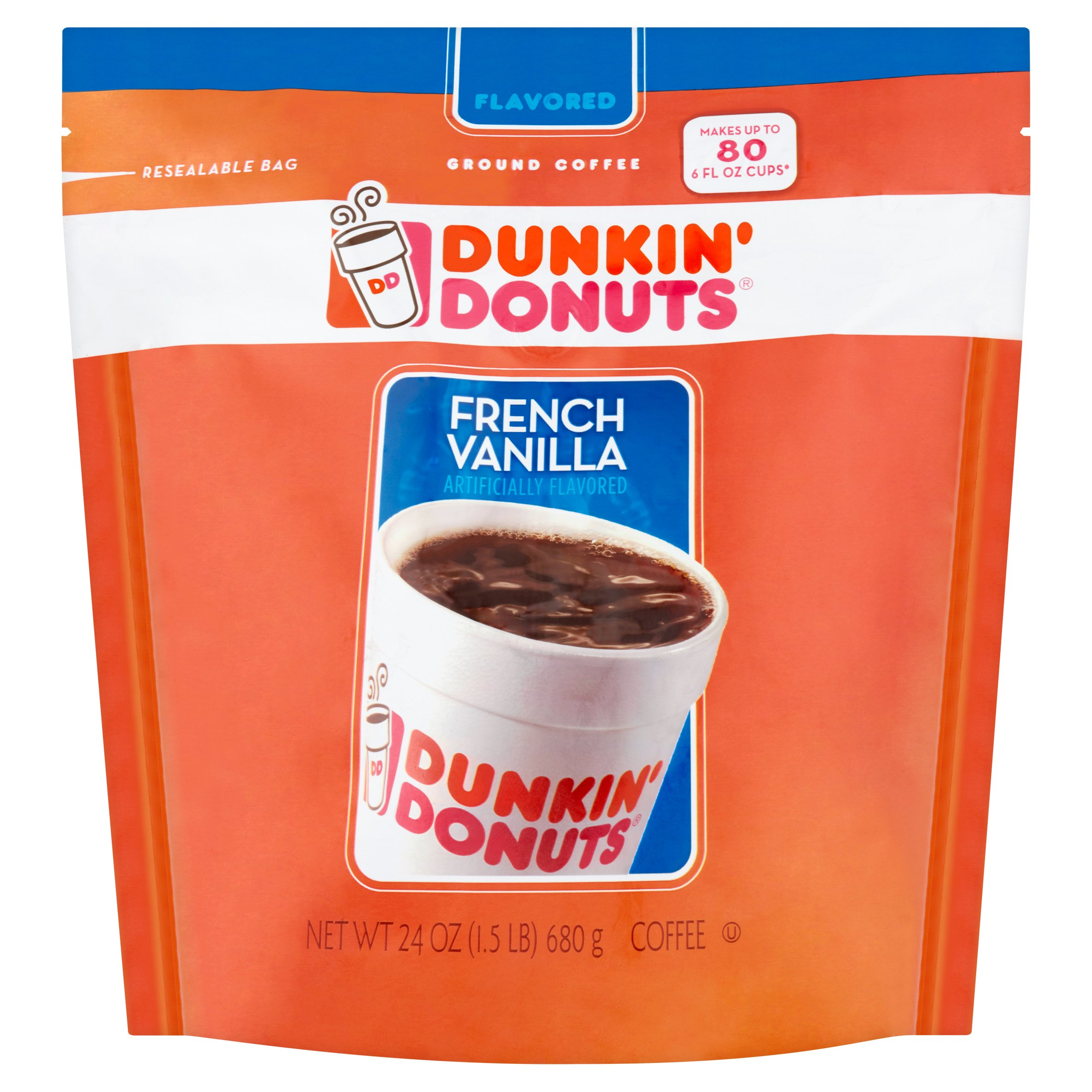 Dunkin Donuts Flavored Coffee Nutrition Facts